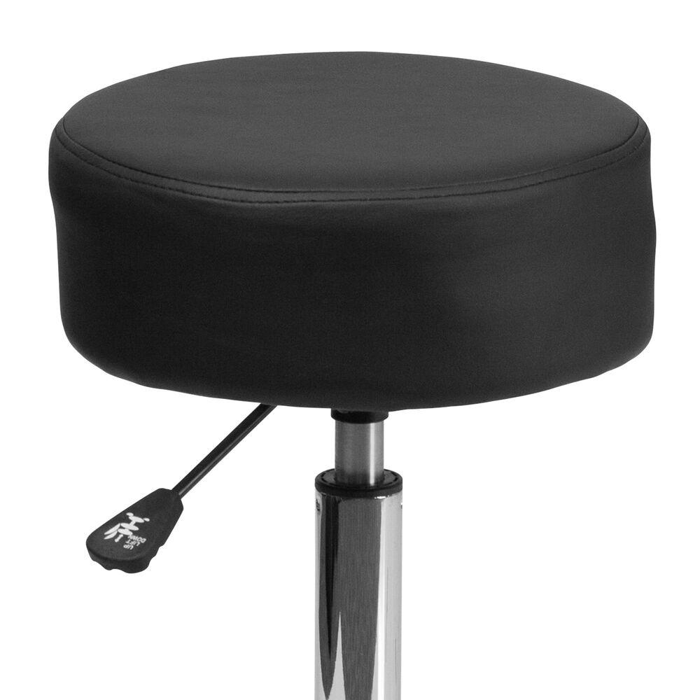 Flash Furniture Ergonomic Stool in Black, , large