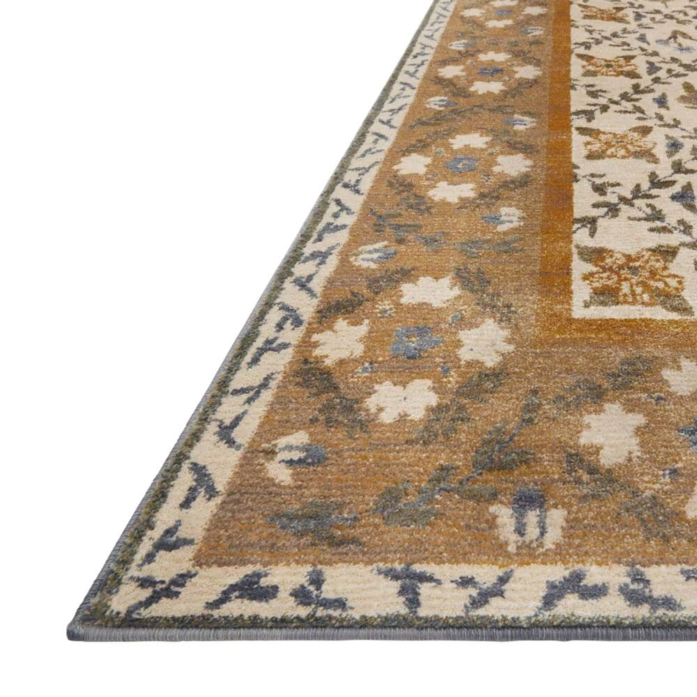 "Loloi Fiore FIO-03 2'7"" x 8' Gold Runner, , large"