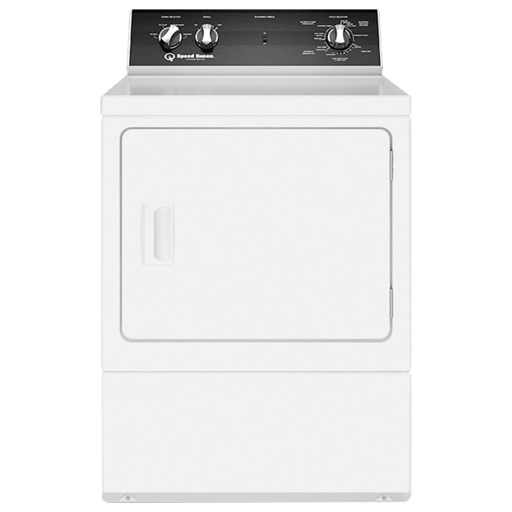 Speed Queen 3.2 Cu. Ft. Top Load Washer with 6 Preset Cycles and 7.0 Cu. Ft. Electric Dryer Laundry Pair in White, , large