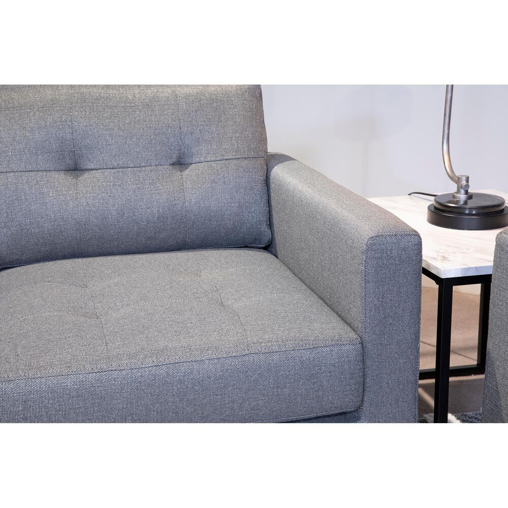 Signature Design by Ashley DuBarry Nuvella Sofa in Charcoal, , large