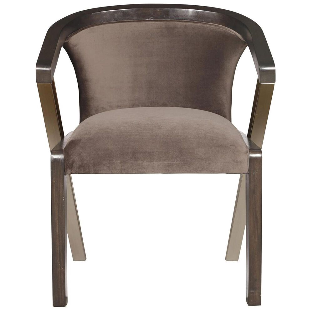 Accentric Approach City Chic Benton Accent Dining Chair in Brown, , large