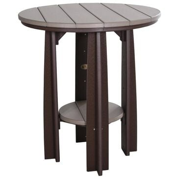 Amish Orchard Counter Height Table in Weatherwood and Chestnut, , large