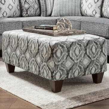Arapahoe Home Cocktail Ottoman in Melanie Charcoal, , large