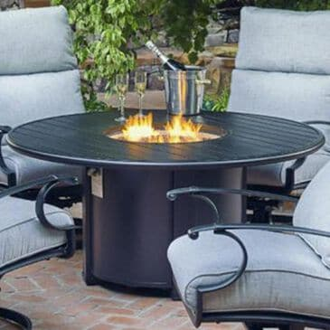 "Winston Veneto 44"" Round Fire Pit in Night, , large"