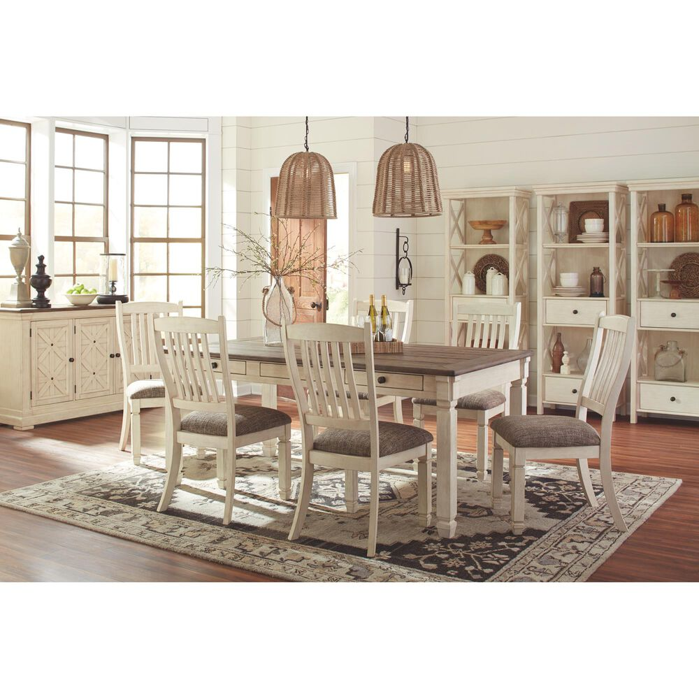 Signature Design by Ashley Bolanburg Side Chair in Antique White, , large