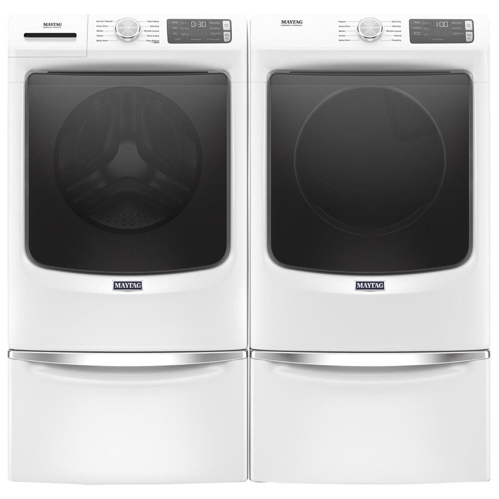 Maytag 7.3 Cu. Ft. Gas Dryer in White, , large