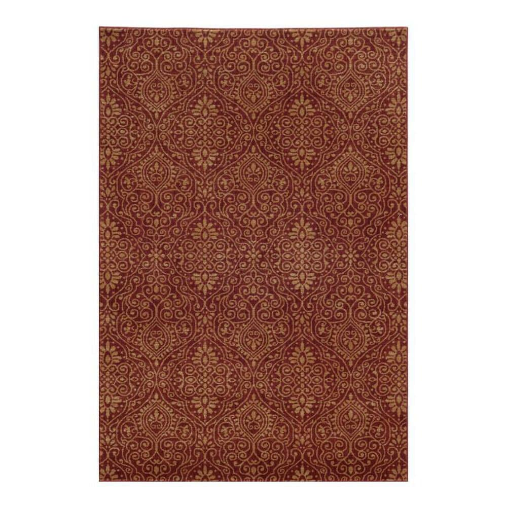 "Oriental Weavers Voyage 91R 1'10"" x 3'3"" Red Area Rug, , large"