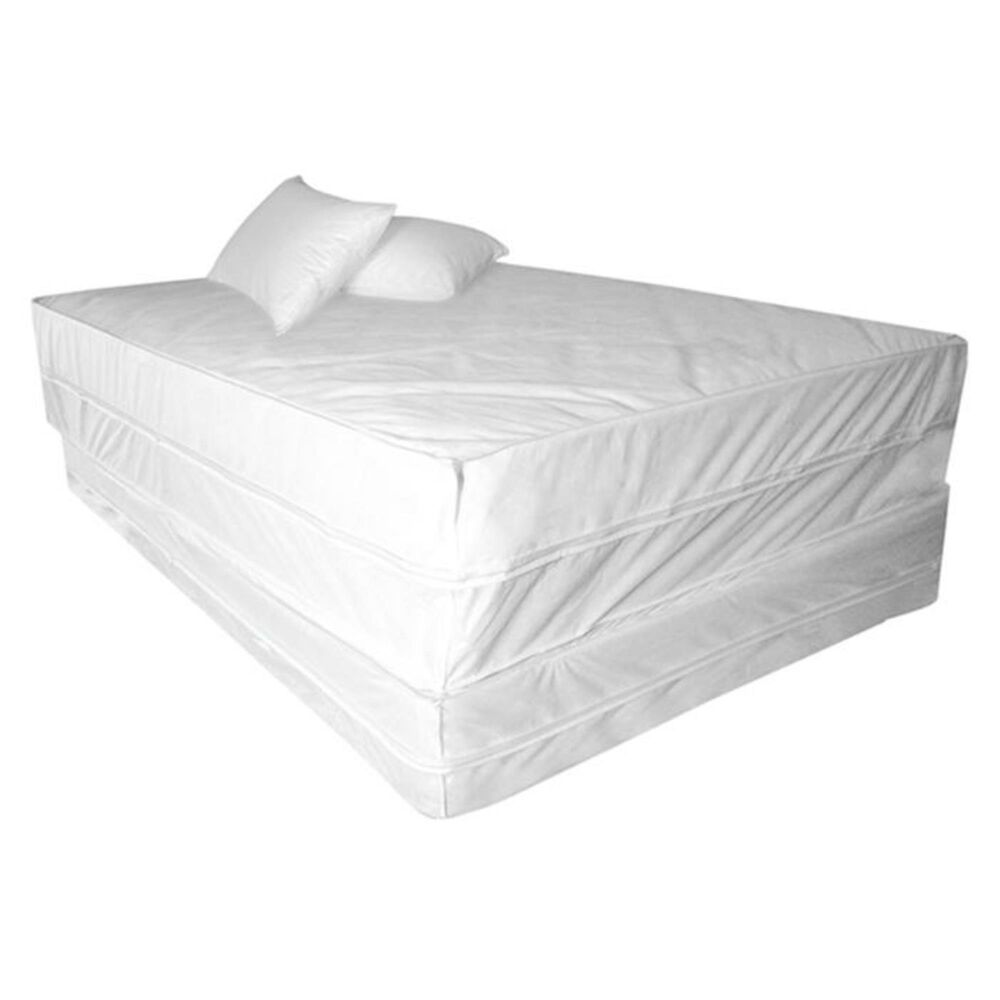 Epoch Hometex Permafresh 4-Piece Queen Complete Bed Protector Set, , large