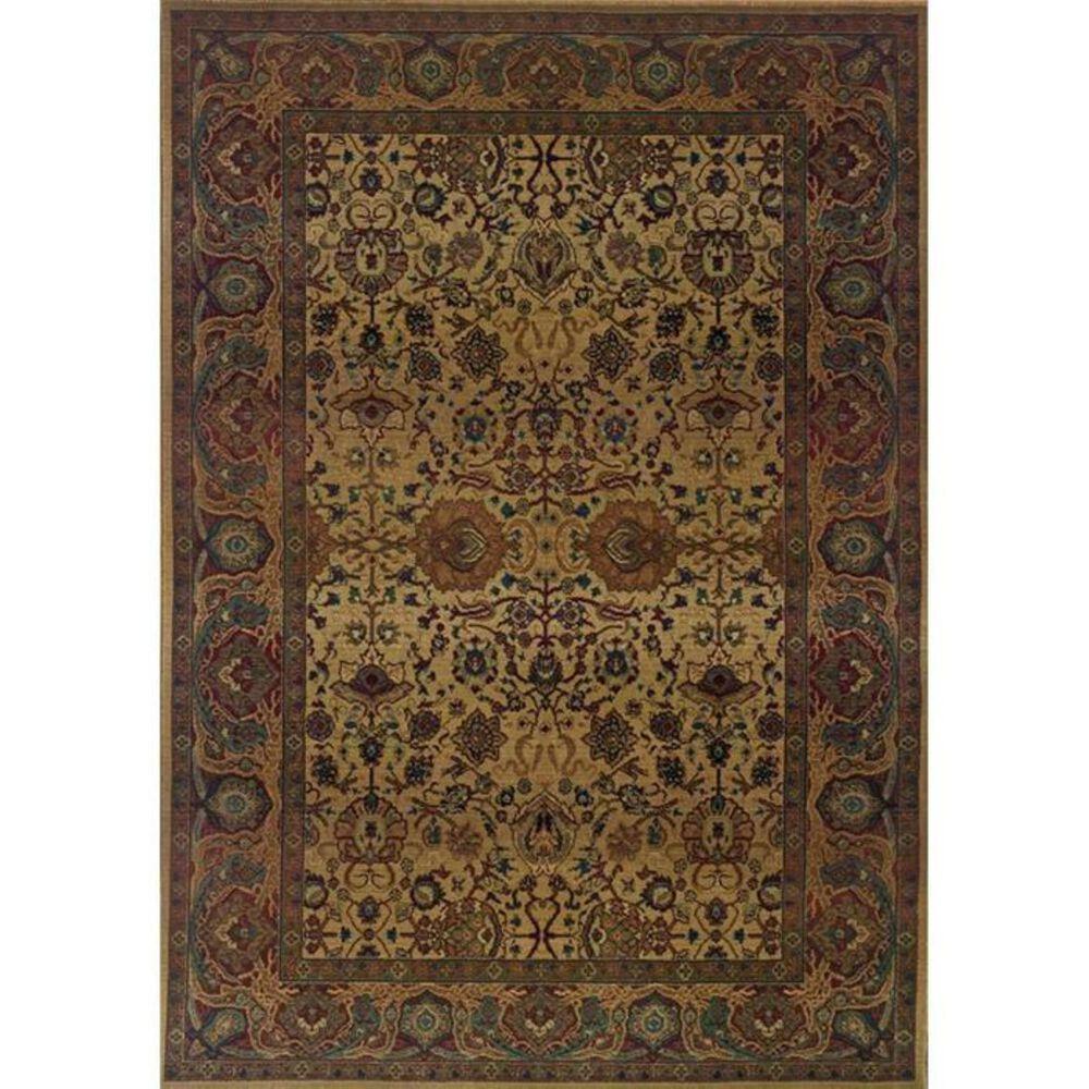 "Oriental Weavers Kharma 332W 5'3"" x 7'6"" Tan Area Rug, , large"