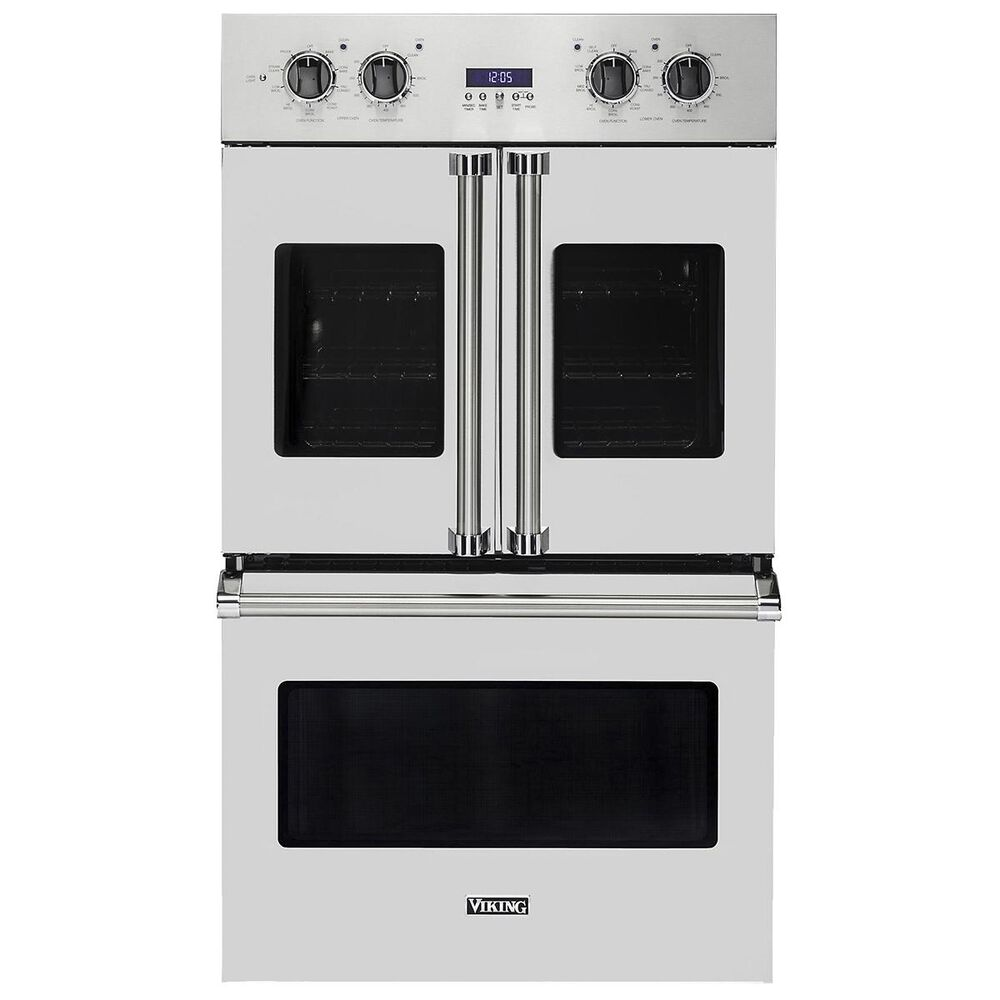 """Viking Range 30"""" Electric Double French-Door Oven in Stainless Steel, , large"""