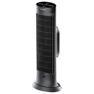 Honeywell Digital Ceramic Tower Heater with Motion Sensor in Black, , large