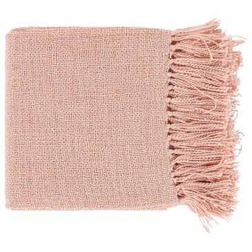 "Surya Inc Tilda 59"" x 51"" Throw in Blush and Gold, , large"