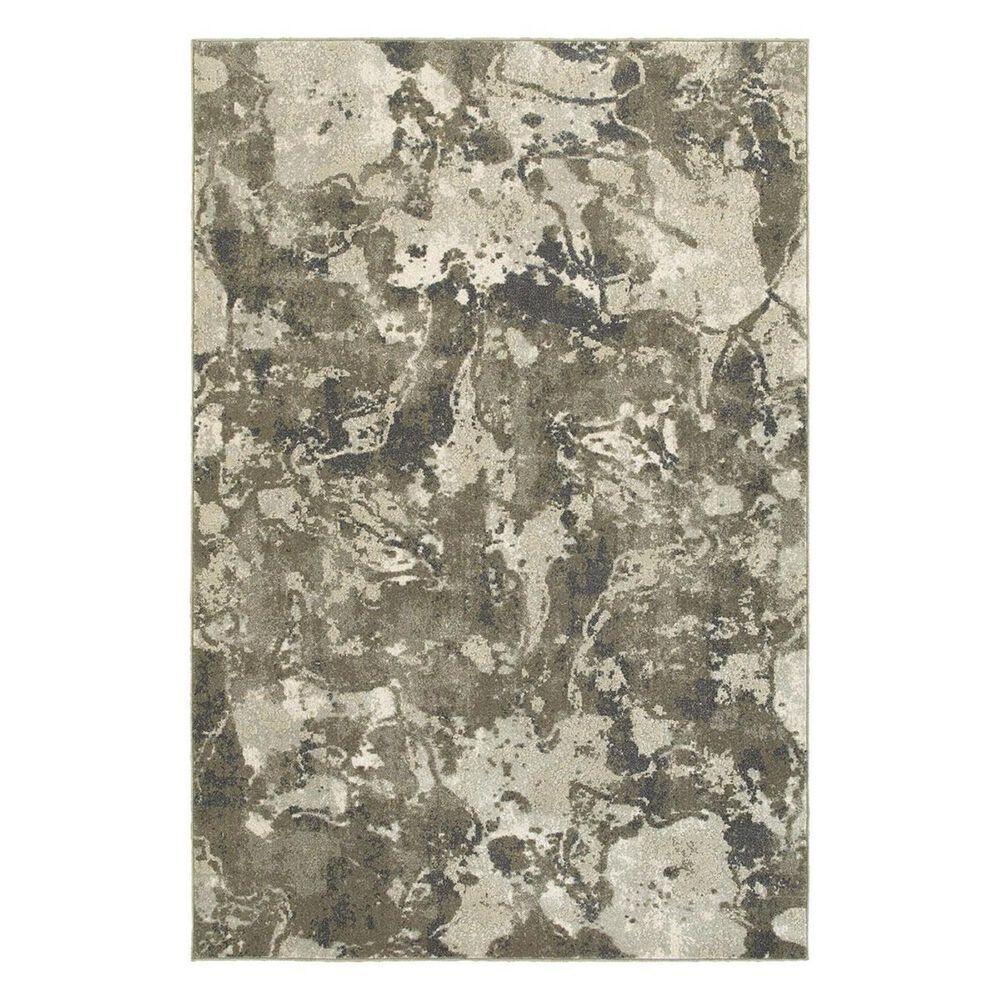 "Oriental Weavers Rowan 537E 3'10"" x 5'5"" Grey/Ivory Area Rug, , large"