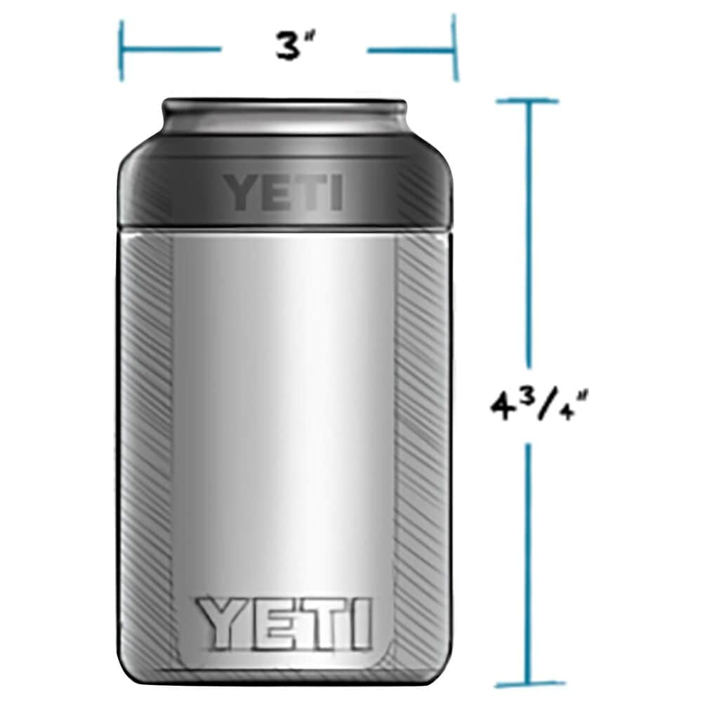 YETI Rambler 12 Oz Colster Can Insulator in Stainless Steel, , large