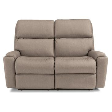 Flexsteel Rio Manual Reclining Loveseat in Flint, , large