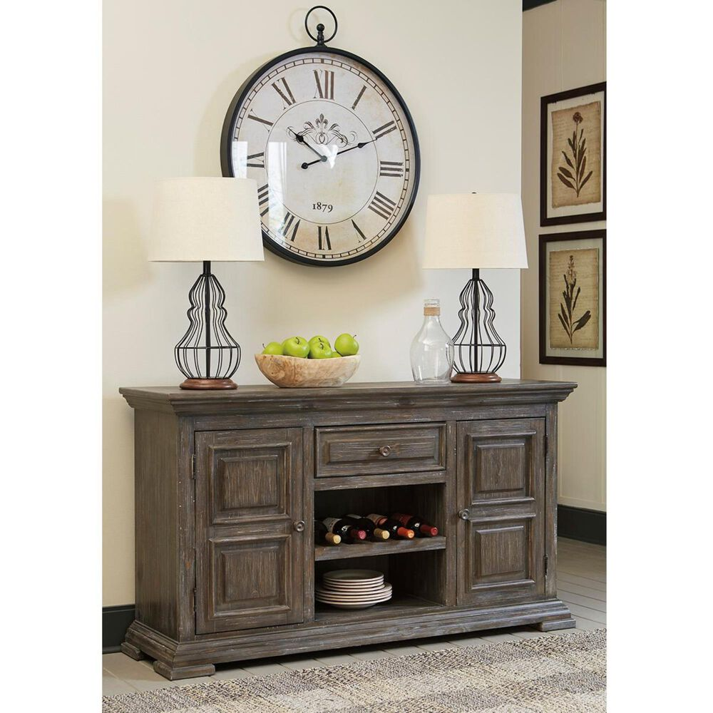 Signature Design by Ashley Wyndahl Server in Rustic Brown, , large
