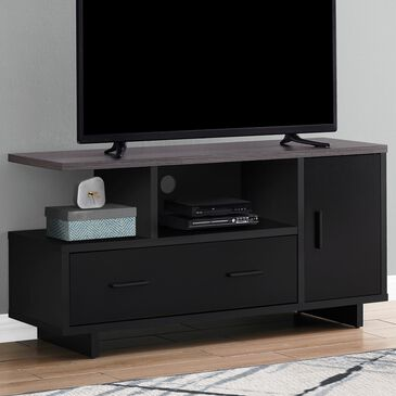 "Monarch Specialties 48"" TV Stand in Black, , large"