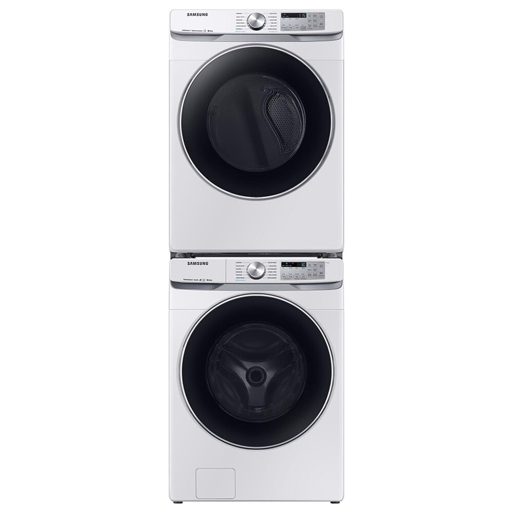 Samsung 4.5 Cu. Ft. Front Load Washer and 7.5 Cu. Ft. Electric Dryer in White, , large