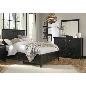 Urban Home Paragon 3 Piece King Bedroom Set in Black, , large