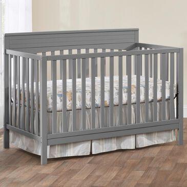 Oxford Baby Harper 4-In-1 Convertible Crib in Dove Grey, , large