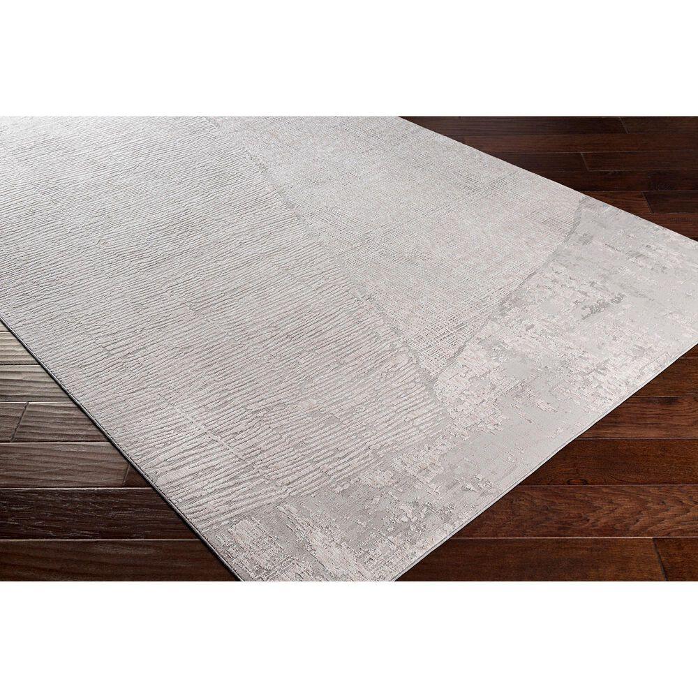 "Surya Carmel 5' x 7'3"" Gray, White, Taupe and Ivory Area Rug, , large"