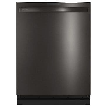 """GE Profile 24"""" Built-In Dishwasher with Hidden Controls in Black Stainless Steel, , large"""