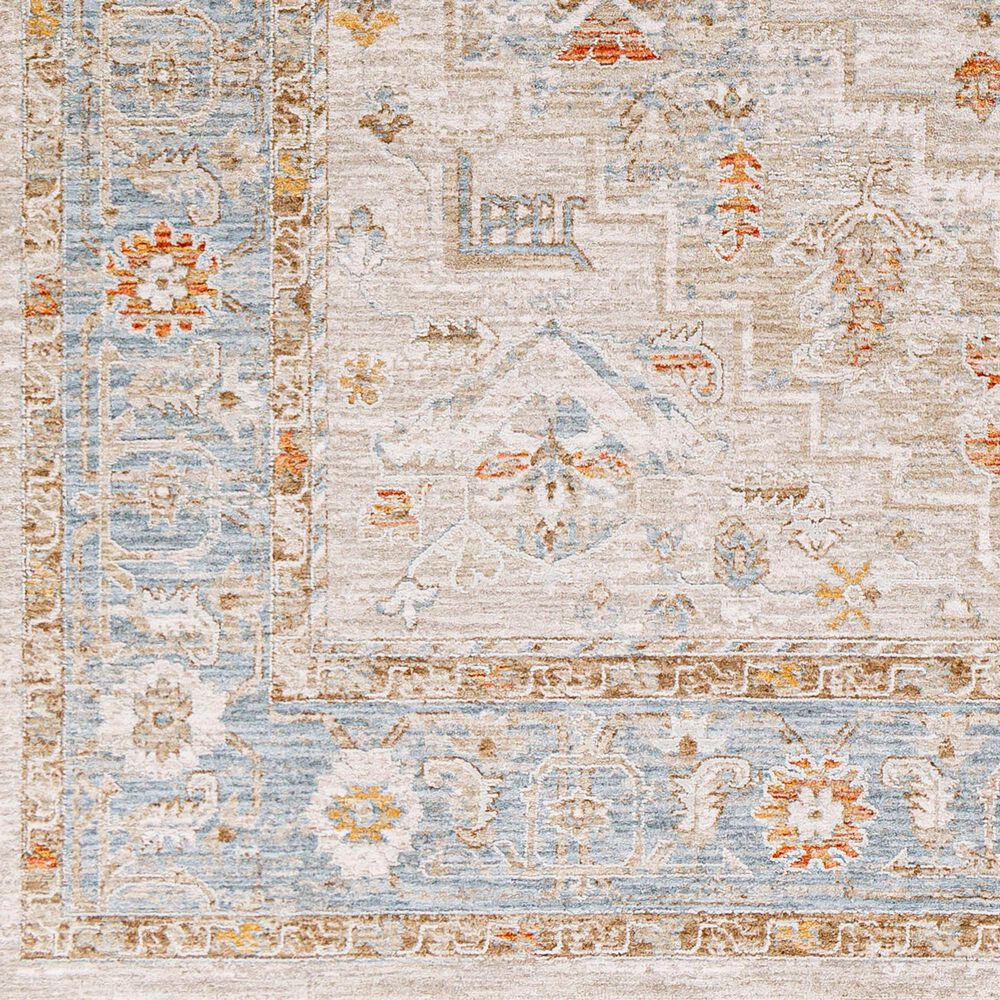 "Surya Avant Garde AVT-2316 5' x 7'5"" Orange, Blue and Beige Area Rug, , large"