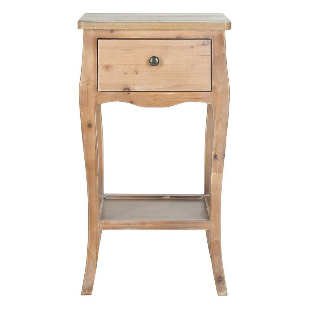 Safavieh Thelma End Table With Storage Drawer  in Red Maple, , large