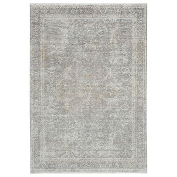 Nourison Starry Nights 8' x 10' Silver and Cream Area Rug, , large