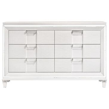 Mayberry Hill Twenty Nine 6 Drawer Dresser in White, , large