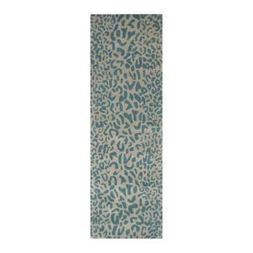 """Surya Athena ATH-5120 2'6"""" x 8' Green and Camel Runner, , large"""
