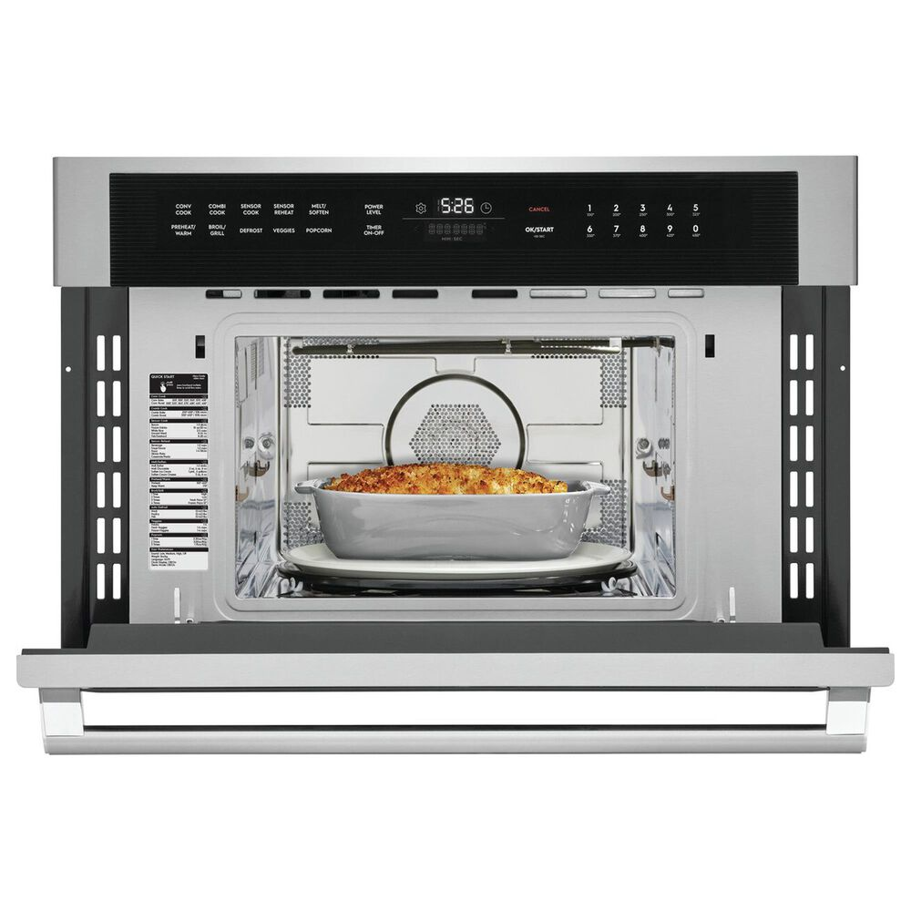 """Electrolux 30"""" Built-In Microwave Oven with Drop-Down Door in Stainless Steel, , large"""