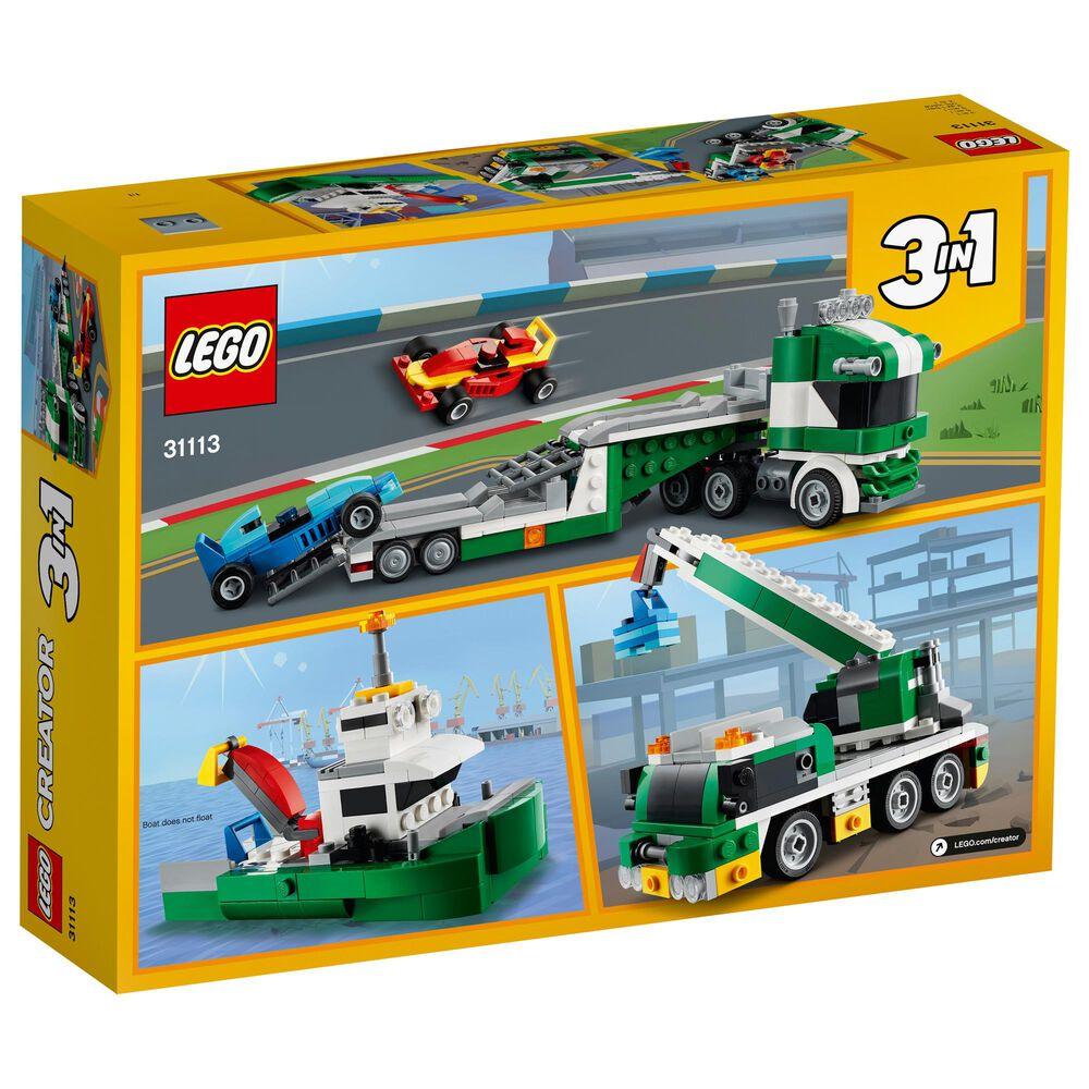 LEGO Creator Race Car Transporter Building Toy, , large