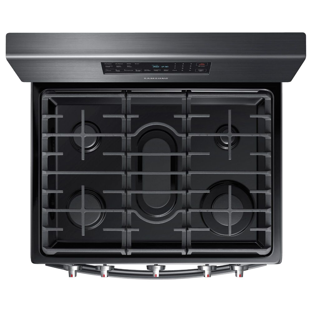 """Samsung 30"""" Freestanding Gas Range with Convection in Black Stainless Steel, , large"""