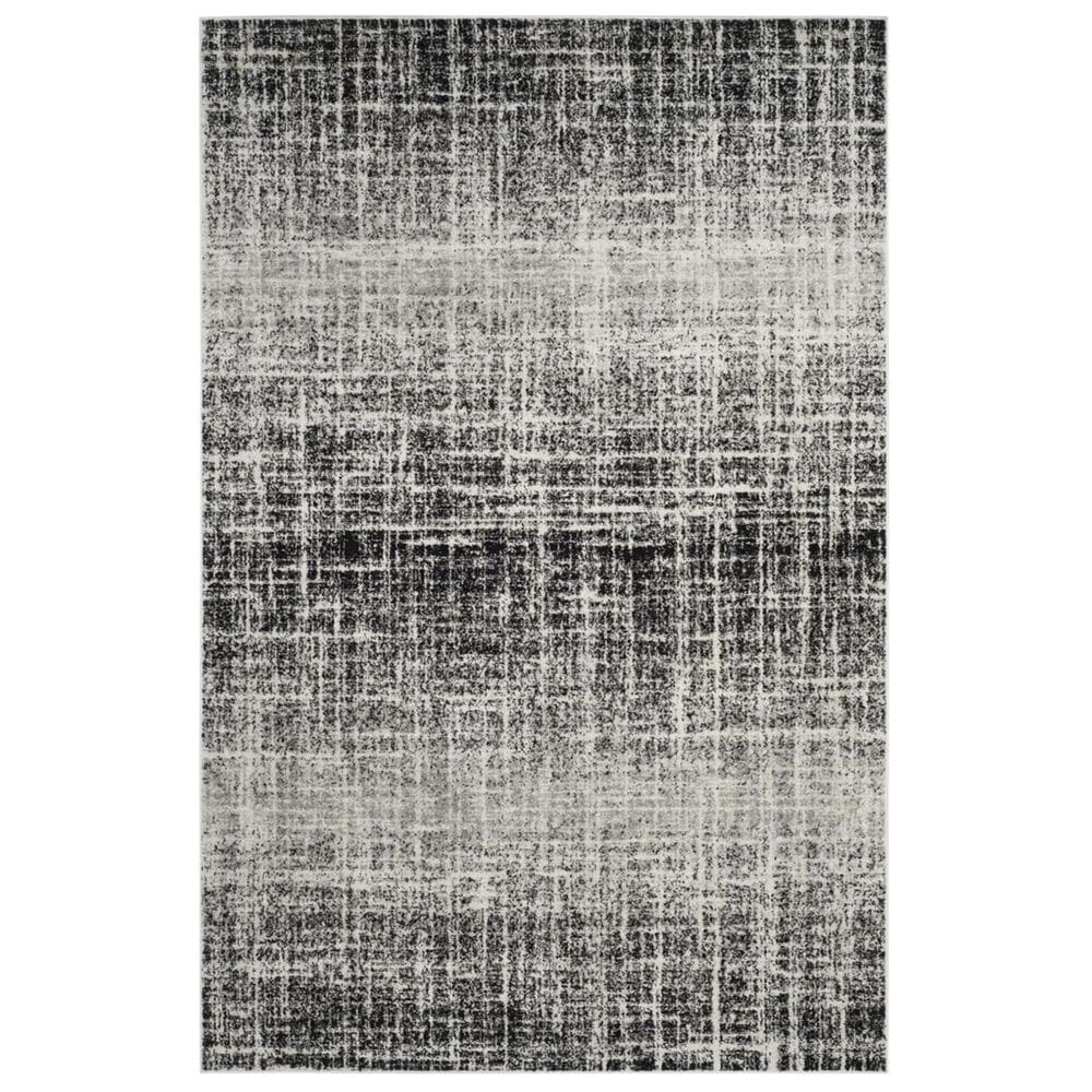 Safavieh Adirondack ADR116B 6' x 9' Ivory and Black Area Rug, , large