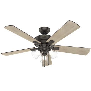 "Hunter Crestfield with 3 LED Lights 52"" Ceiling Fan in Noble Bronze, , large"
