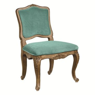 Magnolia Home French Inspired Flora Accent Chair with Seaglass Seat and Back in Bench, , large