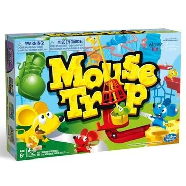 Hasbro Classic Mousetrap Board Game, , large