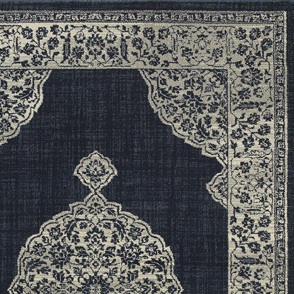 "Oriental Weavers Linden 7937A 2'3"" x 7'6"" Navy Runner, , large"