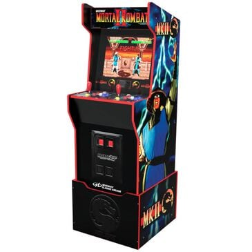 Arcade1up 4' Midway Legacy Edition Mortal Kombat II Arcade Game with Riser, , large