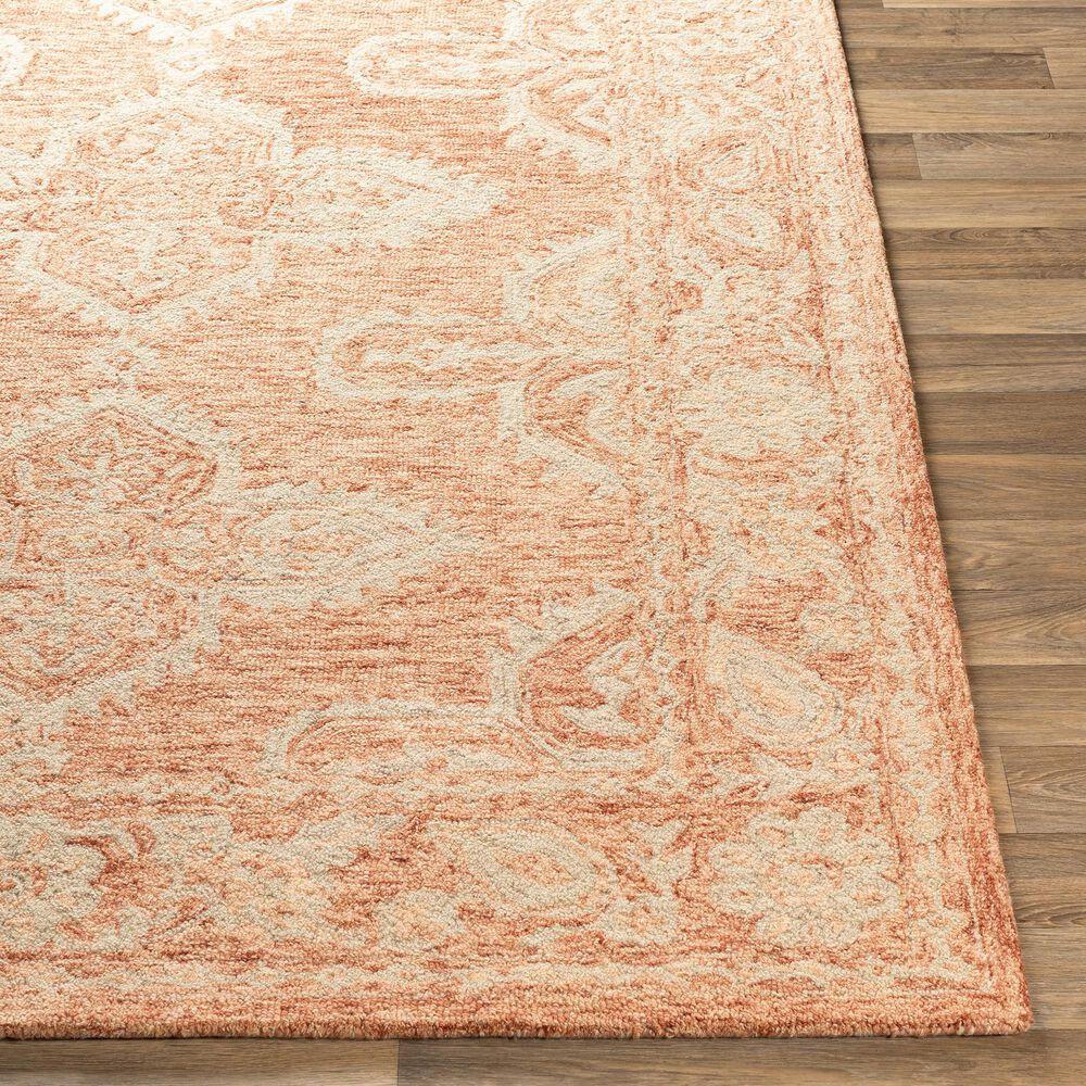 Surya Granada GND-2301 6' x 9' Rust, Peach and Khaki Area Rug, , large