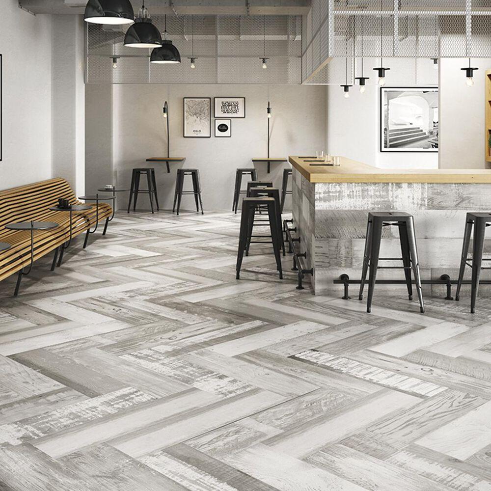 "Soci Chalkwood White 10"" x 40"" Porcelain Tile, , large"