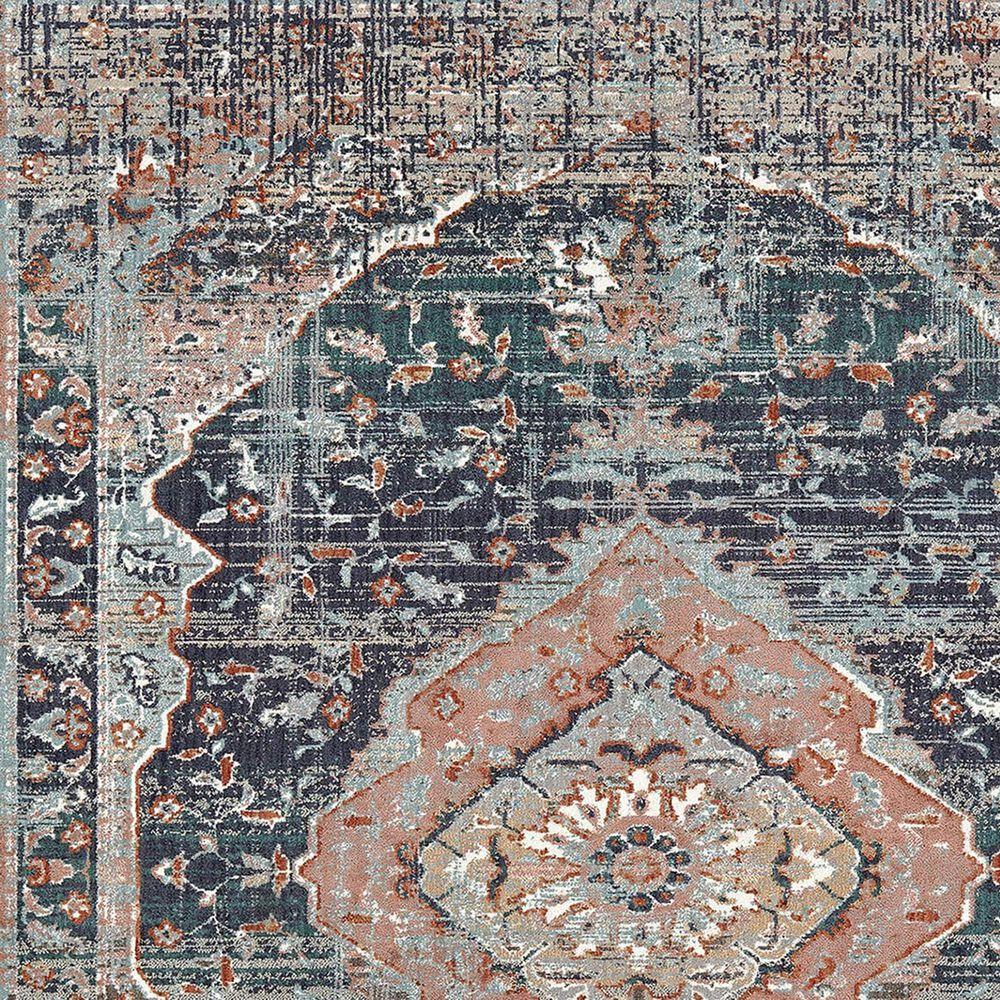 Karastan Soiree Solace 91965-50102 8' x 11' Indigo Area Rug, , large
