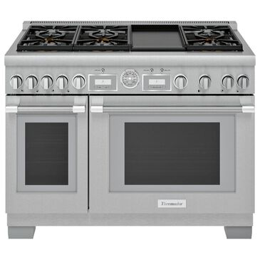 """Thermador 48"""" Professional Grand Commercial Gas Range in Stainless Steel, , large"""
