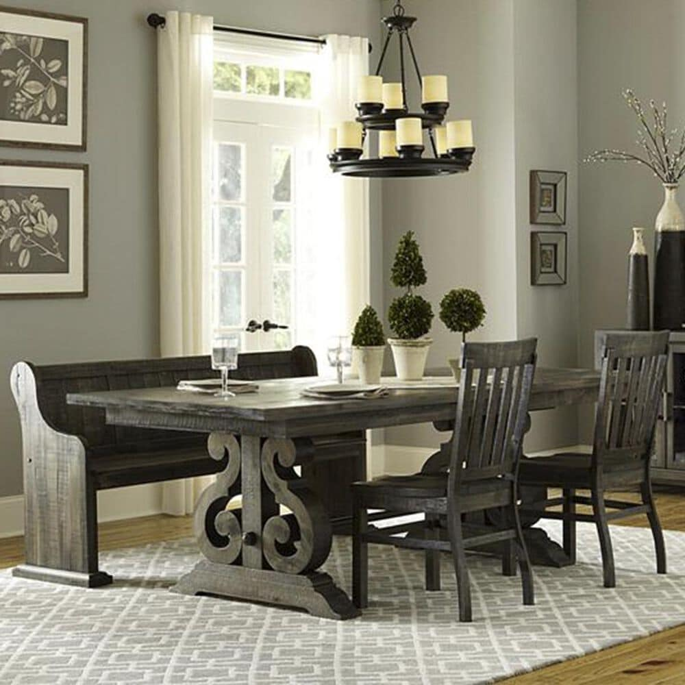 Nicolette Home Bellamy 4-Piece Dining Set in Peppercorn, , large