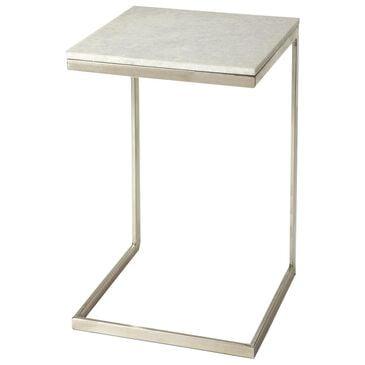 Butler Lawler End Table in Nickel, , large