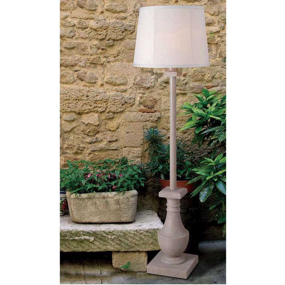 Kenroy Patio Outdoor Floor Lamp in Coquina, , large