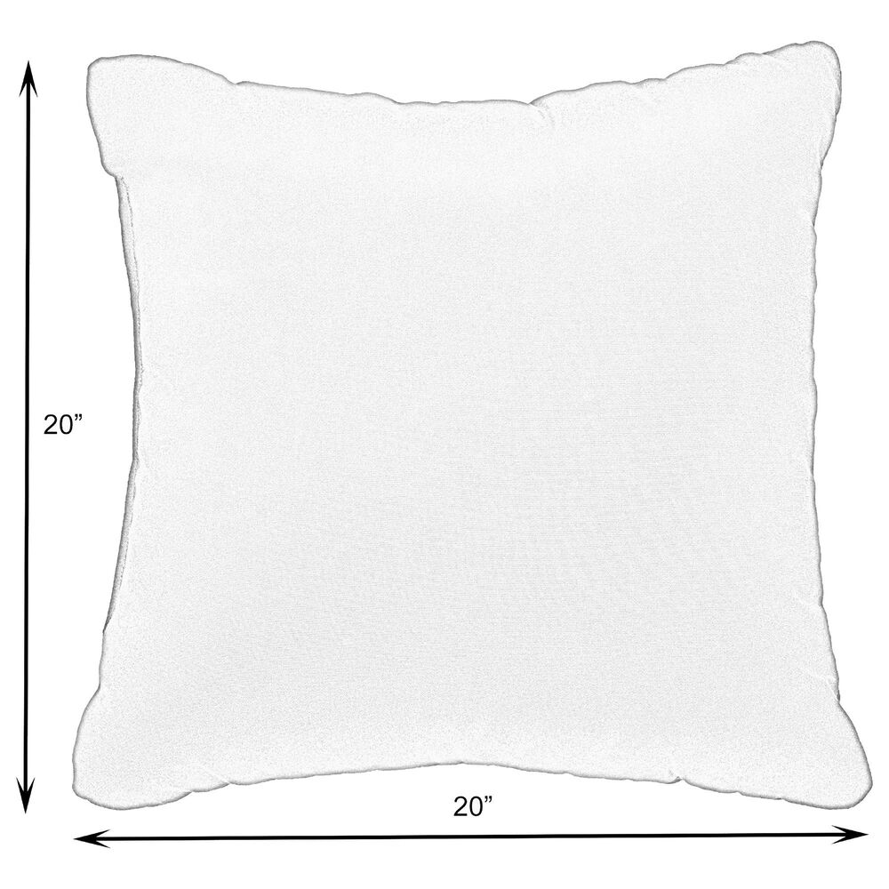 "Sorra Home Sunbrella 20"" Pillow in Dupione Deep Sea (Set of 2), , large"