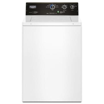 Maytag 3.5 Cu. Ft. Commercial-Grade Residential Washer in White, , large