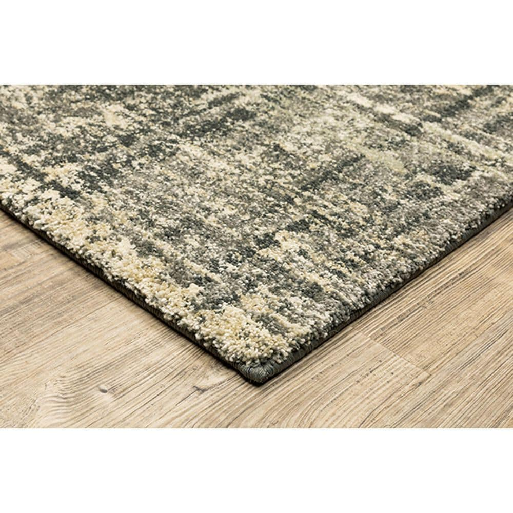 "Oriental Weavers Astor Nikko 7'10"" x 10'10"" Charcoal Area Rug, , large"